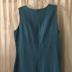 Tommy Bahama Dresses - Smoky Teal Tommy Bahama Silk Dress